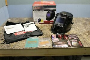 Lincoln Electric Black Welding Helmet Viking 2450 Series K3028 3 W 4c Lens Tech