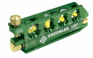 Greenlee Laser Level With Rare Earth Magnets L97 Free Shipping