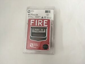 nib new Silent Knight Sk pull da Fire Alarm Pull Station Honeywell