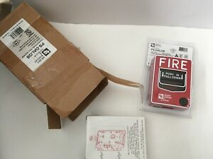 nib new Silent Knight Ps dalob Fire Alarm Pull Station W Sb i o Backbox