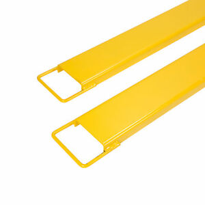 2 Pack 84 X 5 5 Steel Pallet Fork Extensions For Forklifts Lift Truck
