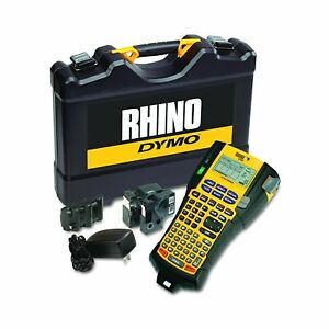 Dymo Rhino 5200 Industrial Label Maker Cary Case Kit With 2 Rolls Of Vinyl La