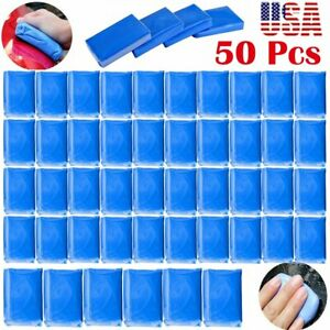 50pcs Magic Clay Bar Car Auto Vehicle Cleaning Detailing Remove Marks Washer Ba