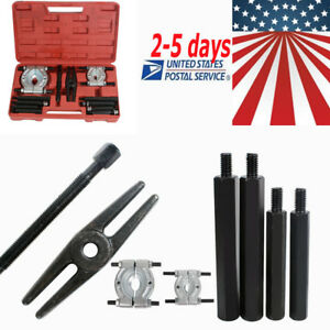 12pcs Bearing Splitter Gear Puller Fly Wheel Separator Set Tool 5ton Profession