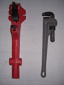New Foot Vise Pipe Wrench 1 1 4 2 Rothenberger Collins Pony Pipe Threader