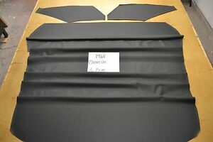 1968 68 Chevelle 6 Bow 2 Door Black Tier Grain Headliner Usa Made Top Quality