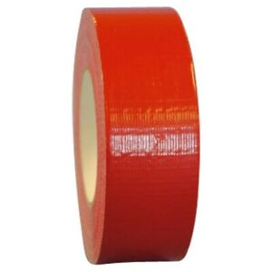 1 X 60 Yd Red Colored General Purpose Cloth Duct Tape case Of 48 Rolls