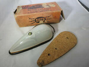 Nos Dietz Glass 1930s 1950s Roof Cab Clearance Marker Or Fender Light Lens