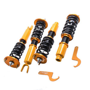 Coilovers For Honda Accord 1990 1997 Acura Cl 97 99 Adj Height Shocks Sales