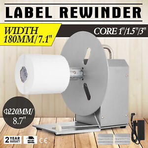 Automatic Label Tag Rewinder Rewinding Machine Home Durable Practical High Grade