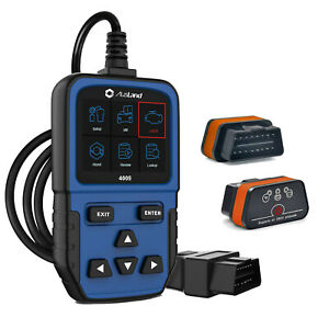 Bluetooth Elm327 4009 Obd2 Scanner Car Engine Code Reader Tool Android Smarphone