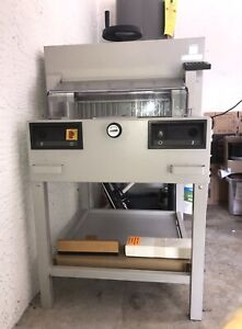 Ideal Paper Cutter 4810 95 Ep 18 Used Mbm Michael Business Machines Guillotine
