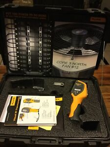 Fluke Vt02 Visual Ir Thermometer Thermography Camera Report Software Works