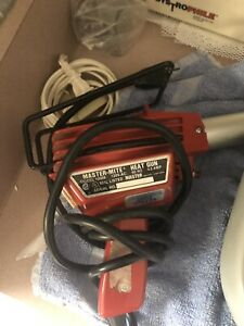 120v 4 5amp Master mite Heat Gun With Attached Stand Model No 10008