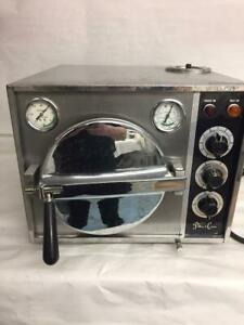 Autoclave Pelton Crane Ocm Sterilizer Omniclave Trays Tops Heats Up Needs Repair
