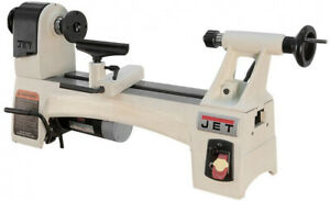 Jet 1 2 Hp 10 In X 15 In Wood Lathe Variable Speed 115 volt Jwl 1015vs