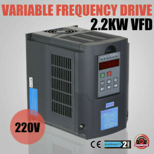 Variable Frequency Drive 2 2kw Avr Cnc Inverter Low output Factory Price