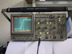 Tektronix 2252 100mhz Oscilloscope Calibration 1 Yr Guaranty Available Extra