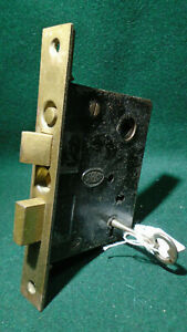 Corbin 1251 Entry Mortise Lock 1927 Catalog Reconditioned W Key 10712