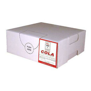 Red Wave Cola Syrup Concentrate Soda Pop Bag N Box Gallon makes 6 Gallons