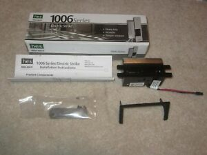 Hes Assa Abloy 1006 12 24d 630 Series Electric Strike W o Faceplate Option Kit