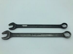 Two Snap On Industrial Wrenches 11 16 3 4 Goex22a Goex24a