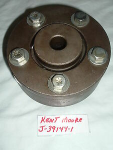 Kent Moore J 39144 1 Brake Lathe Rotor Adapter For 1 Lathe Arbor Usa Made