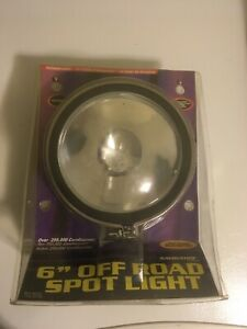 Pilot Navigator 6 Round Off Road Light W Cover Clear Nv 802c
