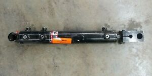 Hydraulic Cylinder With 6 Ports Dual Bore Square Rod End