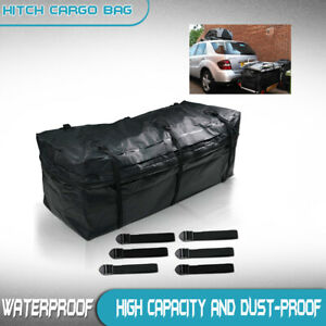 Cargo Carrier Hitch Mount Bag Waterproof Luggage Car Rack Truck Travel Storage