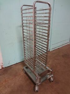 henny Penny H d Commercial S s Roll in Cart W chicken Racks For Scg 201 Oven