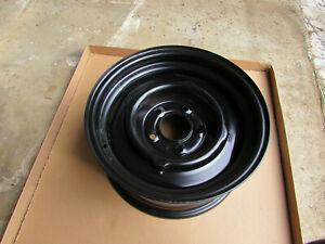 1950 s 1960 s Powder Coated Gm 15 X 7 Steel Wheel Oldsmobile