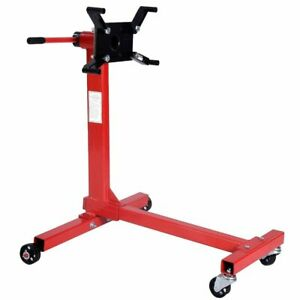 Engine Stand For 4 Cyl 6 Cyl 8 Cyl 1000 Lbs Shop Engine Stand Hoist Automotiv