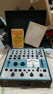 B k Dyna jet Dynamic Mutual Conductance Tube Tester Model 707 Works