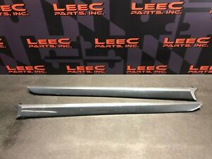 2009 Mitsubishi Lancer Ralliart Oem Door Trim Carbon Panels