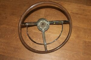 1961 1962 1963 Lincoln Steering Wheel Excellent Rare H