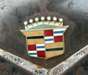 1963 Cadillac Trunk Crest Emblem Custom Rat Rod Other