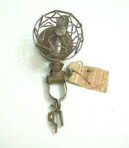 Antique Vintage 1920 s Era Trico Vacuum Car Accessory Fan With Original Tag