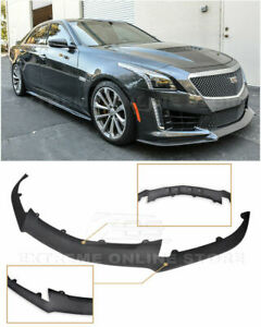 Eos Add On Bottom Line Front Bumper Lower Lip Splitter For 16 Up Cadillac Cts V