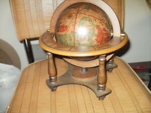 Reproduction Of 1507 Terrestrial Globe Italy