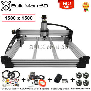 Workbee Cnc Router Full Kit 1500x1500mm Screw Driven With Electronic Combos 110v