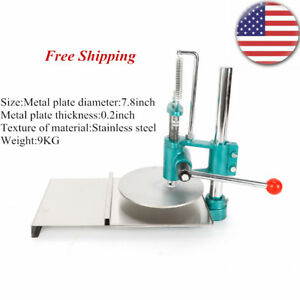 7 8 Dough Roller Sheeter Pasta Maker Household Pizza Dough Pastry Press Machine