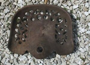 Cast Iron Tractor Seat Country Farm Implement Sign Fits John Deere Champion A25