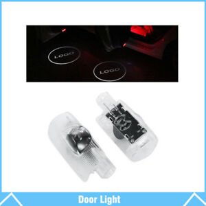 2pcs For Toyota Logo Led Car Door Courtesy Welcome Light Ghost Shadow Laser Lamp
