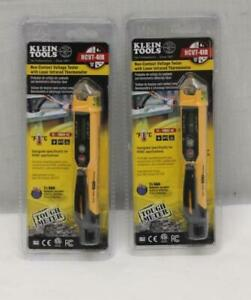 2 Klein Tools Ncvt 4ir Non Contact Voltage Tester W Laser Infrared Thermometer