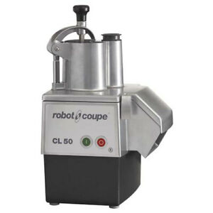 Robot Coupe Cl50e Continuous Feed Food Processor 1 1 2hp