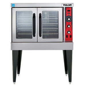 Vulcan Vc4gd Natural Gas Convection Oven Single Stack Standard Depth With Legs