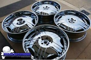 24 Mht Linea All Chrome Wheels Rims Range Rover Sport 24x9 5x120