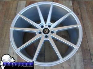 Set Of 4 22 Koko Kuture Le Mans Wheels Rims Silver 22x9 22x10 5 5x115 Dodge