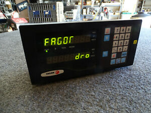 Fagor Nv21rs Digital Readout Dro Xlent Working Condition Free Ship